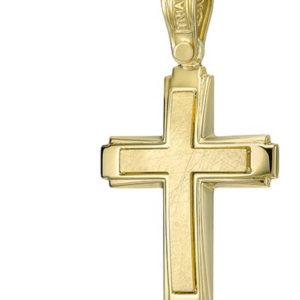 vaptistikos-stauros-xrusos-triantos
